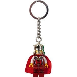 LEGO Kingdoms King Key Chain 852958 by LEGO. $4.99. LEGO Kingdoms King Key Chain 852958. This royal monarch features a regal red robe! Hang this authentic LEGO minifigure on your keys, bag or backpack! Sturdy metal chain and loop.