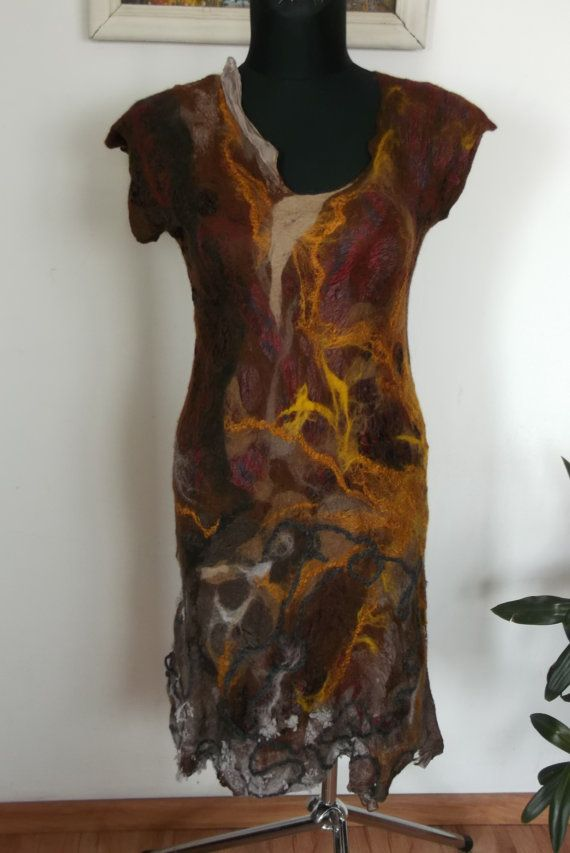 Hey, I found this really awesome Etsy listing at https://www.etsy.com/listing/236214646/handmade-felted-nunofelted-pretty-dress