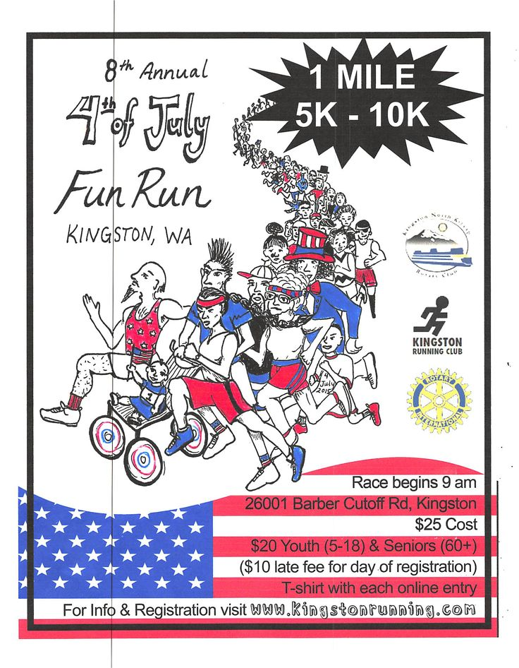 kingston july 4th fun run