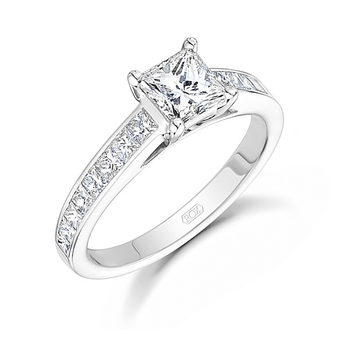 219 Best Princess Cut Diamond Engagement Rings Images On