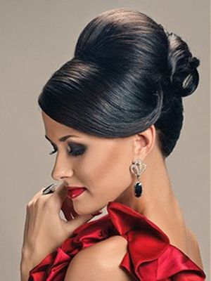 1940s Hairstyles Updos | 1950s Updo Hairstyles Black updo hairstyles-03