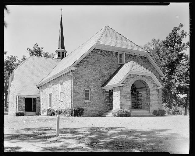 Old Stone Church, Staunton vic., Augusta County, Virginia