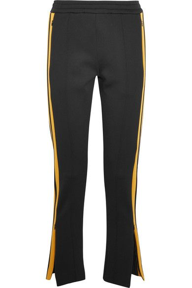 JOSEPH Scuba Striped Stretch-Neoprene Track Pants. #joseph #cloth #pants
