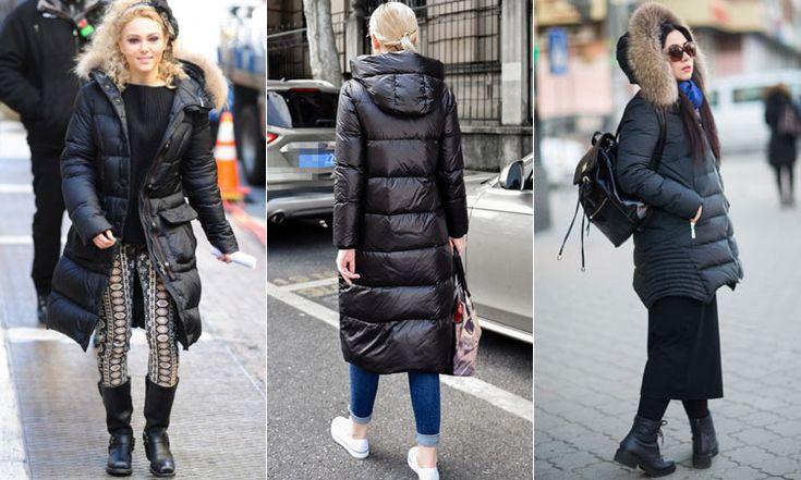 Длинные осенние куртки для женщин
