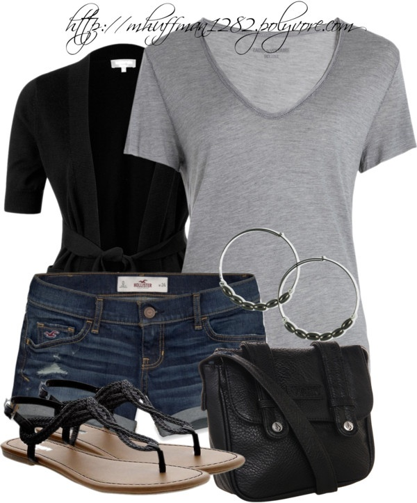 """Shorts Weather"" by mhuffman1282 ❤ liked on Polyvore"
