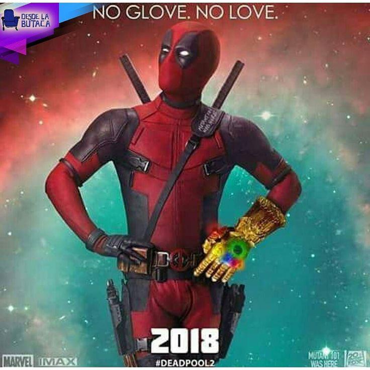 """#Deadpool también quedó interesado con el guante de #AvengersInfinityWar que vimos en la #D23 y además con un comentario muy chistoso """"Sin Guante No Hay Amor""""  ustedes creen que esto significa una vinculación de este personaje con los #Avengers? Nosotros esperamos que sí."""