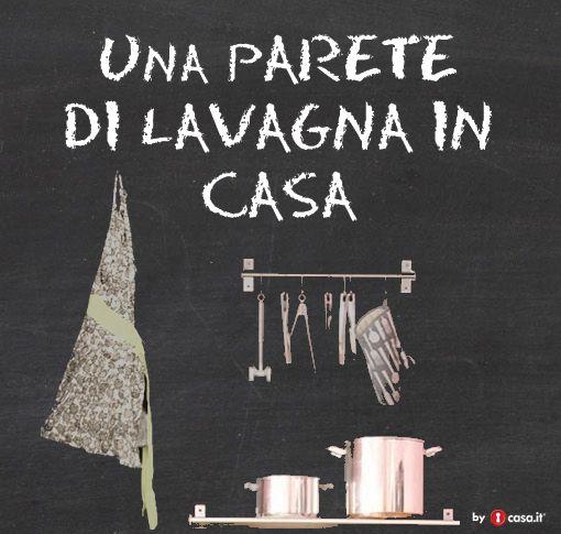 Oltre 25 fantastiche idee su Lavagna per pareti cucina su Pinterest  Parete ...