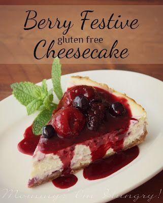 MIH Recipe Blog: Berry Festive Cheesecake {Gluten Free}