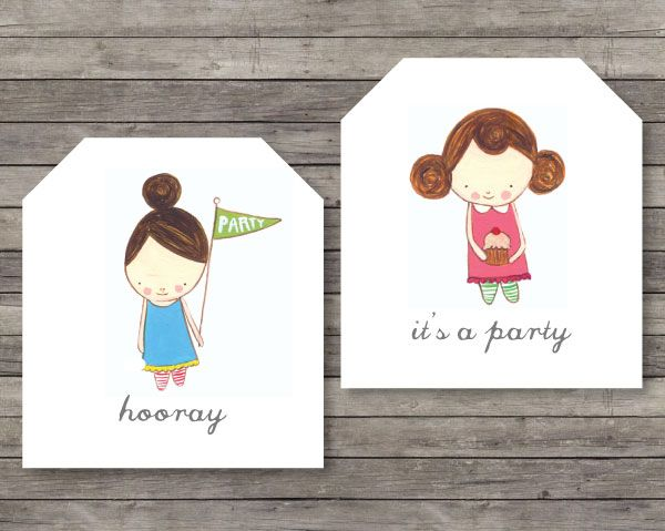 The Sweetest Party Tags | Heartmade Blog