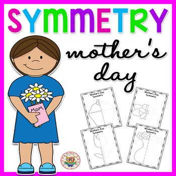 This Mother's Day themed Symmetry worksheet packet includes:  2 x Cupcake Symmetry Worksheets (with and without guides) 2 x Vase Symmetry Worksheets (with and without guides) 2 x Tulip Symmetry Worksheets (with and without guides) 2 x Flower Symmetry Worksheets (with and without guides) High quality PDF format.FIND MORE SYMMETRY WORKSHEETSCLICK HERE FOR MORE SYMMETRY WORKSHEETSTerms of Use (TOU)This is a single license use - only for YOUR classroom, please do NOT distribute or share this…