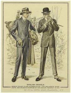 English models. (1912): 1910 S, English Tendanc, 1913 Costumes, Gentlemen Inspiration, Extreme Style, English Models, Fair Lady, Costumes Ideas, Digital Galleries