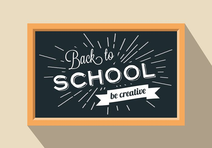 Free vector Free Back To School Vector Background #20278