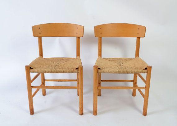 Borge Morgensen Shaker chair J39 Folkestolen The by HearthsideHome, $395.00