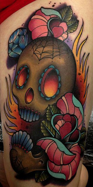 John Barrett - Black 13 Tattoo by Black 13 Tattoo, via Flickr