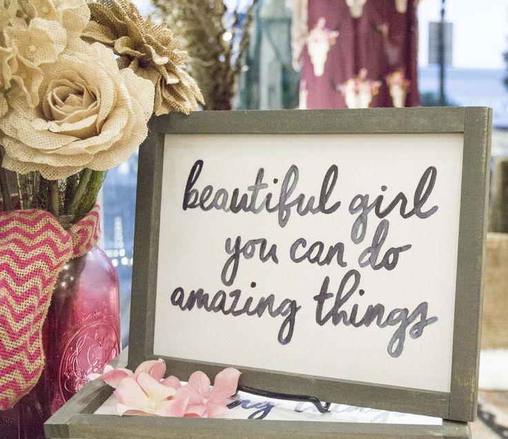 Do Amazing Things: Beautiful Girl, You Can Do Amazing Things