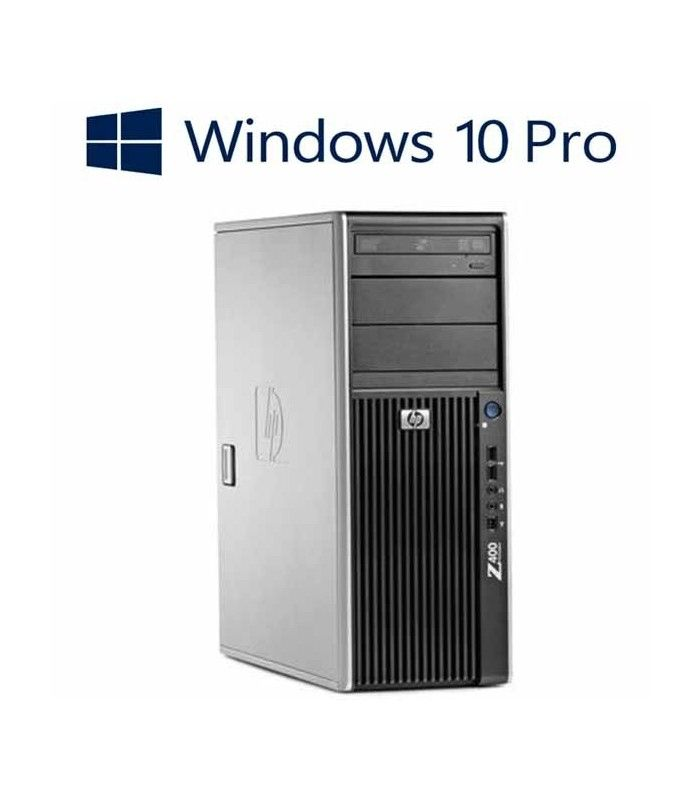 Workstation refubished HP Z400, Xeon Quad Core W3550, Win 10 Pro