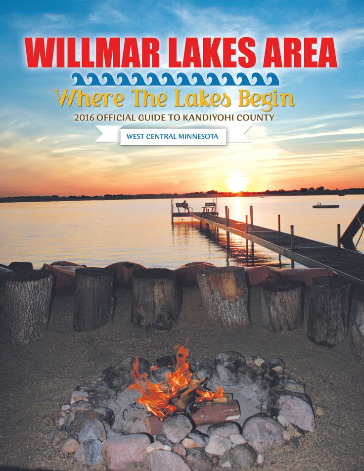 Order your 2016 Willmar Lakes Area Visitor