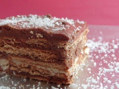 Tarta de chocolate y galletas: la tarta que siempre triunfa. ¡Compruébalo!