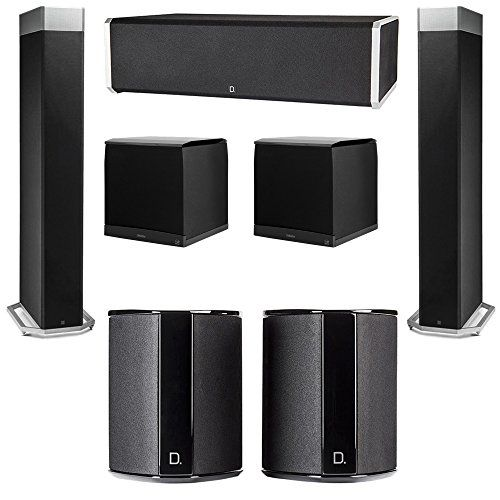 Definitive Technology 5.2 System with 2 BP9080X Tower Speakers, 1 CS9060 Center Channel Speaker, 2 SR9040 Surround Speaker, 2 Definitive Technology SuperCube 8000 Powered Subwoofer You will receive: 2 Definitive Technology BP9080X Tower Speakers + 1 Definitive Technology CS9060 Center Channel Speaker + 2 Definitive Technology SR9040 Surround Speaker + 2 Definitive Technology SuperCube 8000 Powered Subwoofer Definitive Technology Home Theater System Definitive Technology Super