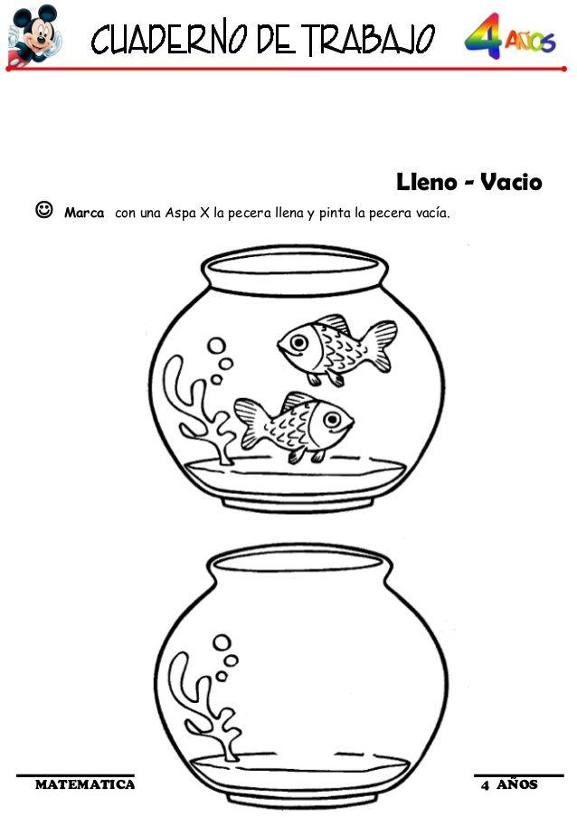 Cuaderno De Trabajo I 4 Anos Matematica Matematicas Matematicas Para Ninos Actividades De Matematicas Preescolares