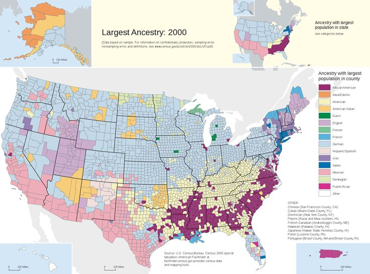 American Map Of Ancestry This Map Which Shows The Dominant Ancestry In Each U County Is A Wonderful Show Of American Diversity And A Living Museum Of