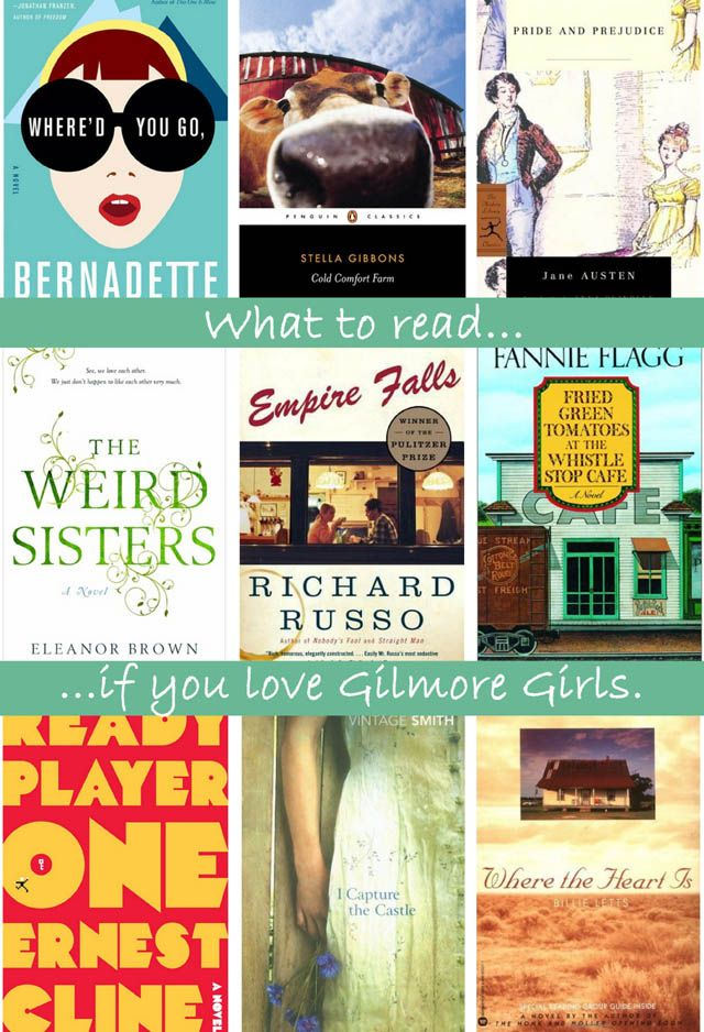 What to Read if You Like Gilmore Girls