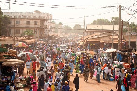 MARKET IN GAMBIA