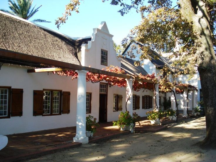 Lekkerwijn Historic Country Guest House - Lekkerwijn is a historic Cape Dutch homestead near Franschhoek, furnished with Cape Dutch furniture in a large garden setting.  The guest house offers accommodation in seven en-suite rooms with Wi-Fi access ... #weekendgetaways #franschhoek #southafrica
