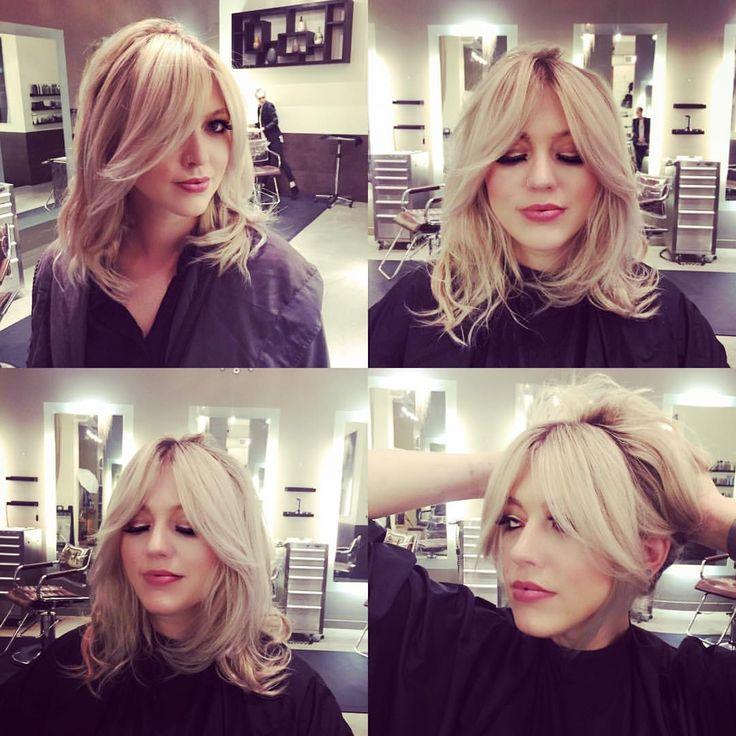 Fabulous 1000 Ideas About Bangs Medium Hair On Pinterest Medium Short Hairstyles Gunalazisus