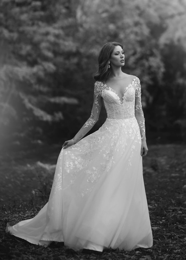 Marisa Bridals Long Sleeves Sweetheart Lace Dresses From Solutions Bridal In Orlando Florida Destination Wedding