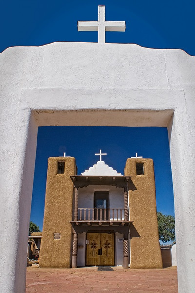 Image detail for -st jerome church taos pueblo taos new mexico july 2009