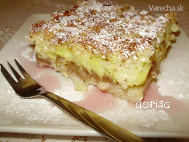 Ryžový nákyp s čerešňami a vanilkovým pudingom (fotorecept
