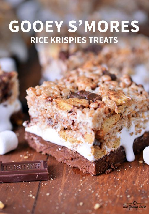 These no-bake Ooey Gooey S'mores Bars are perfect for camping trips ...