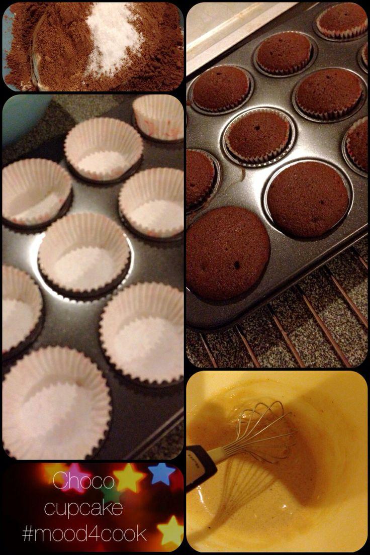 Choco cupcakes #mood4cook