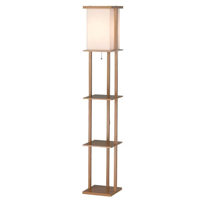 Barbery Shelf Floor Lamp 3451 16 Lbu Lighting Oak Floor Lamp Floor Lamp Indoor Floor Lamps