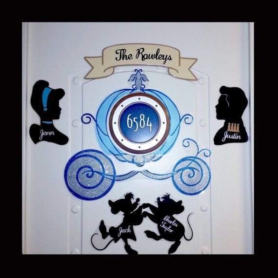 Disney Stateroom Door Templates