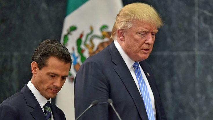 Discusión por el muro con Trump frustra visita de Peña Nieto a EEUU