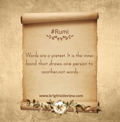 One Of The Best Rumi Short Quotes About Life. #rumiquotes #lifequotes