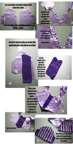 Costume de Rapunzel bricolage