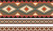 Amerikaanse Indianen tribal deken patronen.