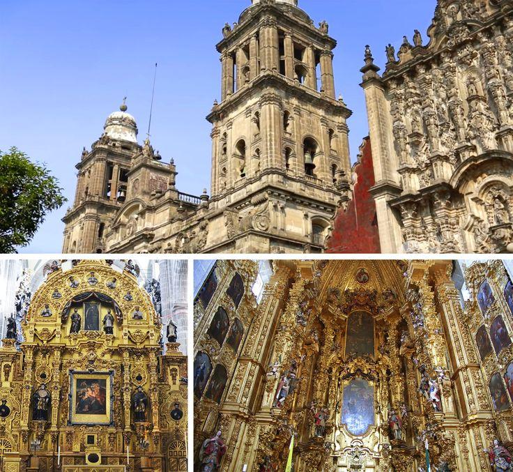 CATEDRAL METROPOLITANA Esta iglesia episcopal está inspirada en los templos de Málaga, Valladolid y Jaén.
