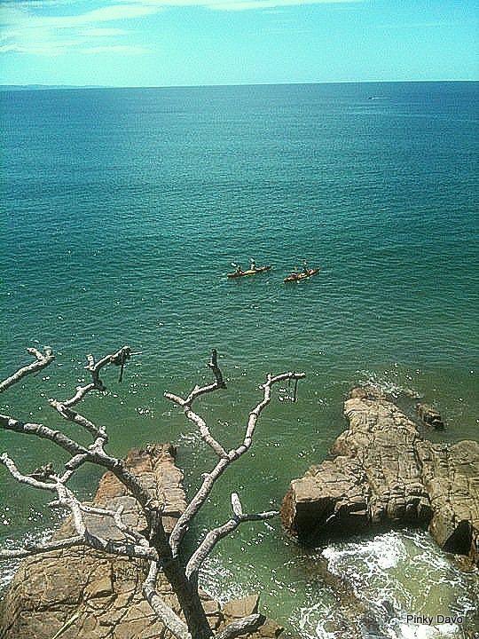 Noosa Beach in Australia.