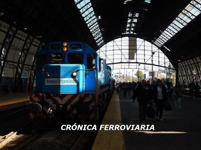 CRÓNICA FERROVIARIA: Tren eléctrico a La Plata: desmintieron rumores so...