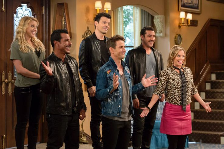Wait - it's some of The New Kids On The Block on Fuller House Season 2!