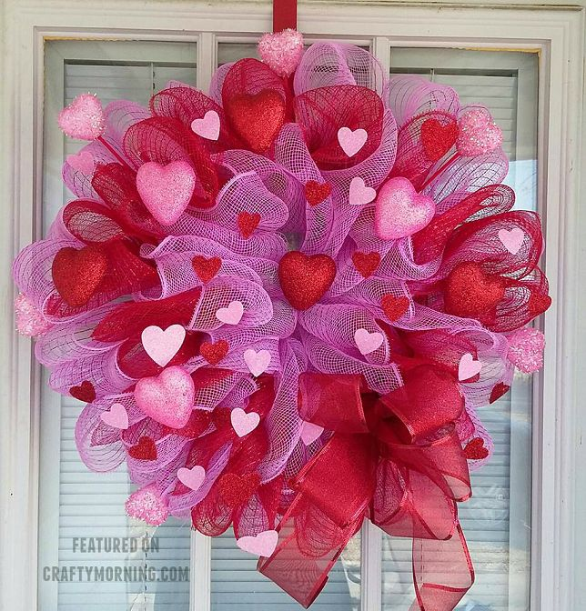 Best 25+ Valentine wreath ideas on Pinterest | Valentine day ...