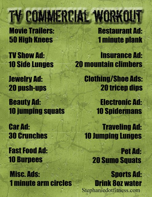 Only problem is Netflix no commercials, but maybe I can catch a show somewhere...or the gym.
