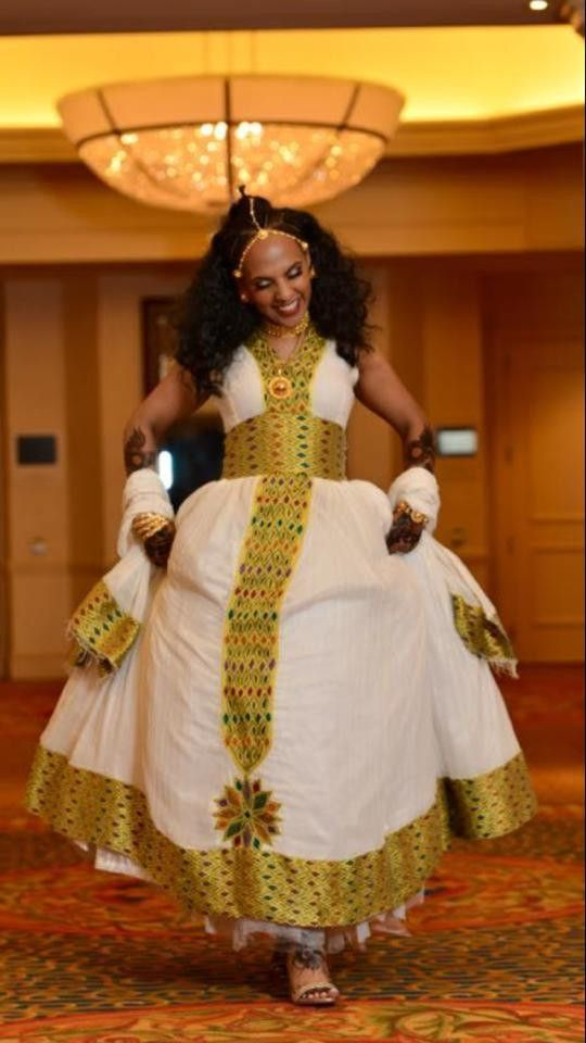 Traditional Habesha Dress Wedding Dresses For Candy