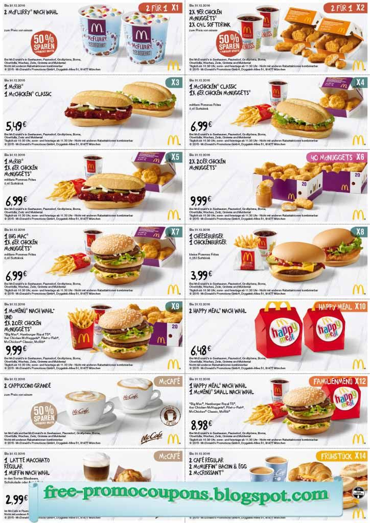picture regarding Mcdonalds Printable Application referred to as Cost-free Printable Mcdonalds Coupon codes Cafe Promo Codes