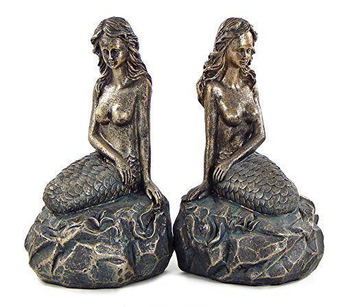 capricious steampunk bookends. Bookends Mythical Mermaid Nautical https www 210 best images about Future  home on Pinterest Mermaids Capricious Steampunk Home Design Plan