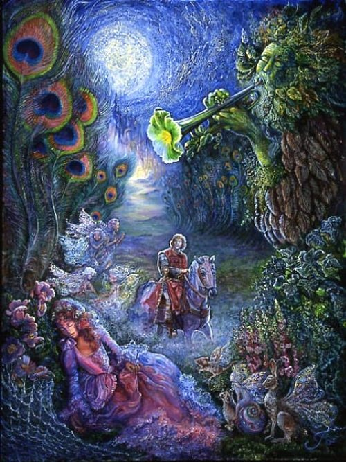 The Enchanted Forest • Josephine Wall